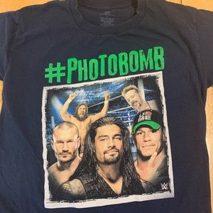 5/$12 WWE Official #photobomb shirt